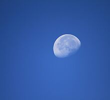 Waning gibbous moon by Ernesto Lopez