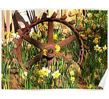 A Garden Wheel Poster