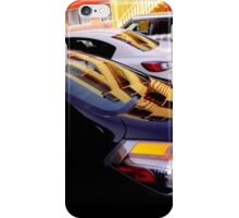 Yellow Pickets Going Up iPhone Case/Skin