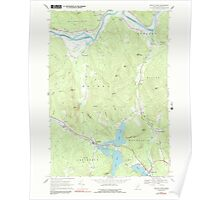 Maine USGS Historical Map Bryant Pond 104980 1967 24000 Poster