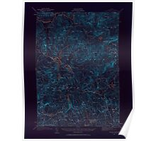 Maine USGS Historical Map Bryant Pond 306494 1911 62500 Inversion Poster