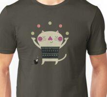 Cute Cat Juggling Unisex T-Shirt