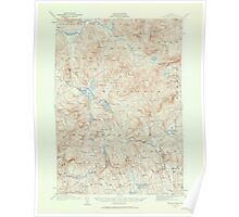 Maine USGS Historical Map Bryant Pond 306494 1911 62500 Poster