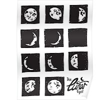 Moon Phase Cycle ☽ Poster