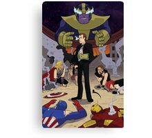 Agent Coulson with the Infinity Gauntlet Canvas Print