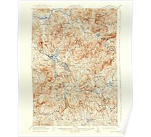 Maine USGS Historical Map Bryant Pond 460254 1914 62500 Poster