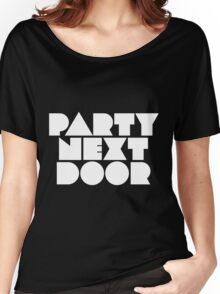PARTYNEXTDOOR White Women's Relaxed Fit T-Shirt