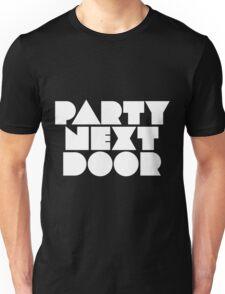 PARTYNEXTDOOR White Unisex T-Shirt