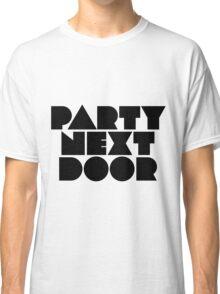 PARTYNEXTDOOR Black Classic T-Shirt