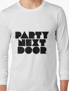 PARTYNEXTDOOR Black Long Sleeve T-Shirt