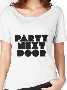 PARTYNEXTDOOR Black Women's Relaxed Fit T-Shirt