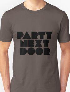 PARTYNEXTDOOR Black Unisex T-Shirt