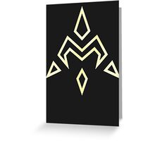 Digimon Crest of Miracles Greeting Card