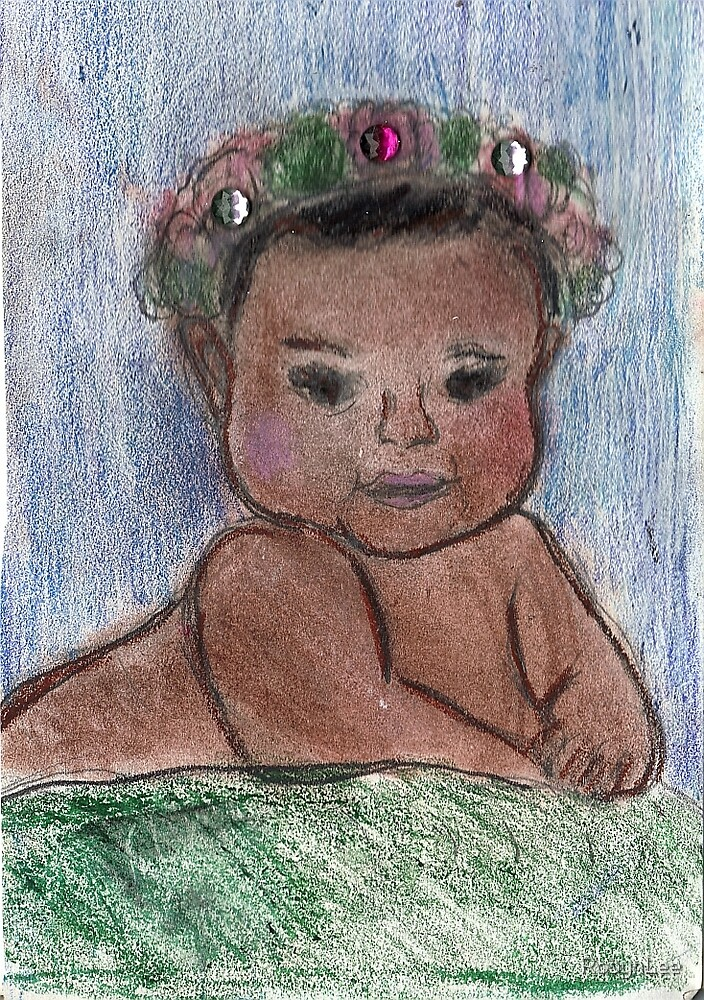 Flower Baby by RobynLee