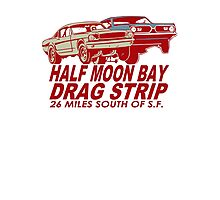 Half Moon Bay Drag Strip Photographic Print