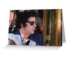 Benicio Del Toro  Greeting Card
