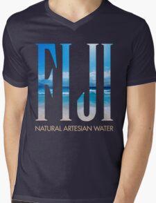 FIJI WATER Mens V-Neck T-Shirt