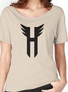 HYTE Logo (Black) Women's Relaxed Fit T-Shirt
