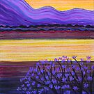 Perfect Pastels - Jacaranda Sunrise by Georgie Sharp