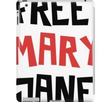 Free Mary Jane Legalize  iPad Case/Skin