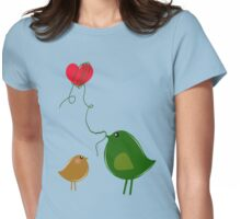 Love Birds Womens Fitted T-Shirt