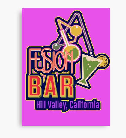 Fusion Bar Hill Valley Canvas Print