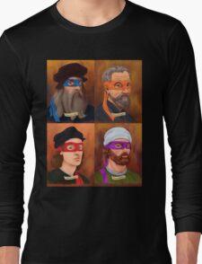 The Renaissance Ninja Artists Long Sleeve T-Shirt