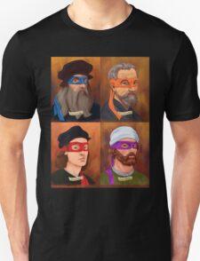 The Renaissance Ninja Artists T-Shirt