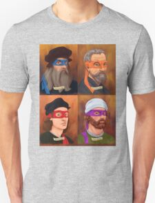 The Renaissance Ninja Artists Unisex T-Shirt