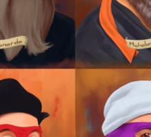 The Renaissance Ninja Artists Sticker