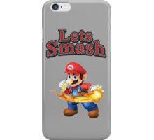 Mario Smash Bros iPhone Case/Skin