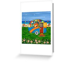 Caravan Holiday ~ Bobby-Ray Greeting Card