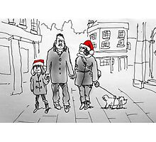 Christmas stroll through Bath Photographic Print