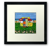 Caravan Holiday ~ Ricky-Lee Framed Print