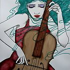 Cello by Lisa Murphy