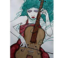 Cello Photographic Print