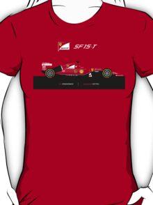 2015 Formula 1 Scuderia Ferrari SF15-T T-Shirt