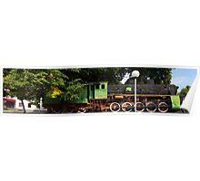 "Locomotive 555 "" year 1923 "" Poster"