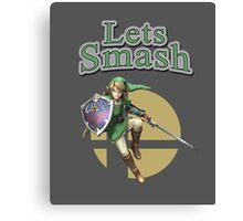 Link Smash Bros Canvas Print