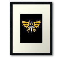 Force to be reckon with Framed Print