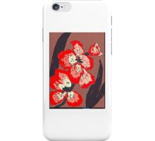 The gladiola iPhone Case/Skin