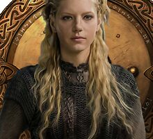Lagertha the Shieldmaiden by nutmeganginger