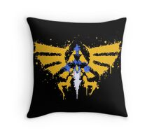 Force to be reckon with Throw Pillow