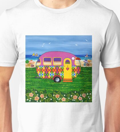 Caravan Holiday ~ Mary-Sue Unisex T-Shirt