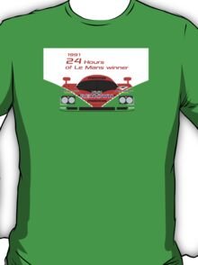 Mazda 787B 24 Hours of Le Mans winner 1991 T-Shirt
