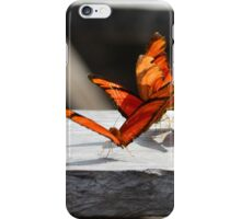 Group of orange butterflies iPhone Case/Skin
