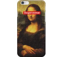 Supreme Mona Lisa iPhone Case/Skin