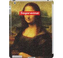 Supreme Mona Lisa iPad Case/Skin