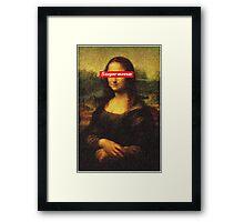 Supreme Mona Lisa Framed Print