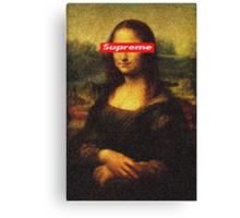 Supreme Mona Lisa Canvas Print